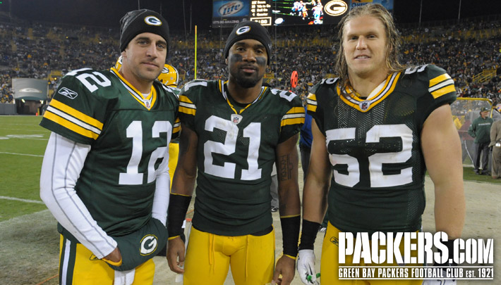 Great picture of cm3 arod and cw21 can anyone help me make this in to a wallpaper - Charles woodson packers wallpaper ...