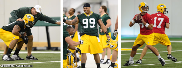 Green Bay Packers Rookie Orientation Camp - 2012