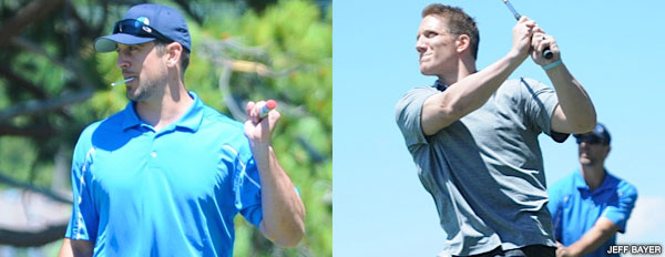 Aaron Rodgers and A.J. Hawk