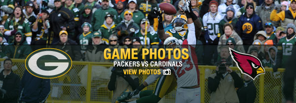Packers-Cardinals game photos