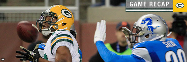 Game Recap: Wide Receiver Randall Cobb's game winning catch