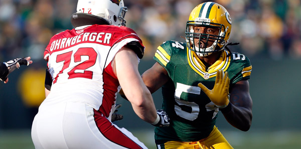 Dezman Moses will start in place of the injured Clay Matthews (hamstring) at right outside linebacker Sunday vs. the Detroit Lions