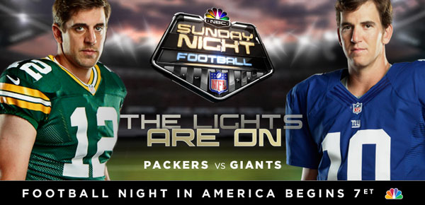 Image result for New York Giants vs. Green Bay Packers