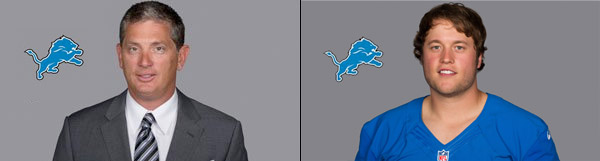 Detroit Lions Head Coach Jim Schwartz and QB Matthew Stafford conference calls