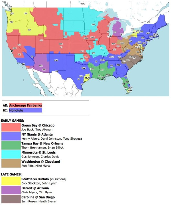 Where to watch Sunday's Packers-Bears game