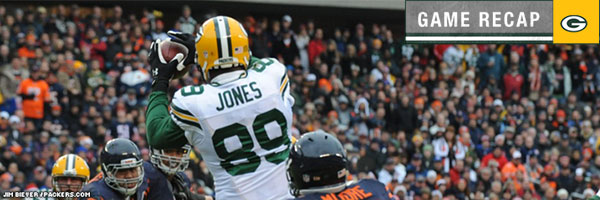 Wide receiver James Jones makes the catch
