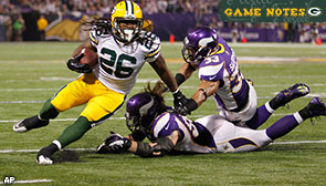 Green Bay Packers RB DuJuan Harris