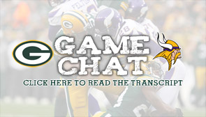 Packers-Vikings Game Day Chat