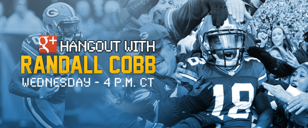 cobb chat The packers wr took questions from fans in a live chat on thursday.