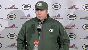 Mike McCarthy at thep podium