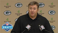Alex Van Pelt speaks on RBs Lacy and Franklin