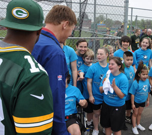 More than $300,000 was raised collectively on the 2013 Packers Tailgate Tour – VIEW TOUR PHOTOS