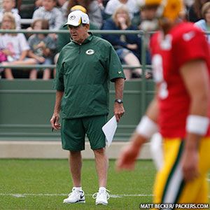 Defensive Coordinator Dom Capers