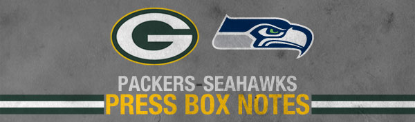 Green Bay Packers vs. Seattle Seahawks