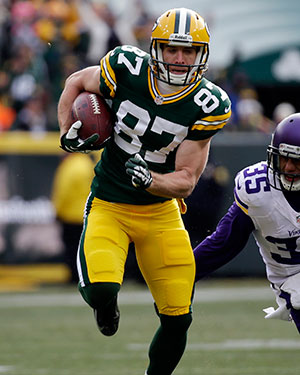 Packers WR Jordy Nelson