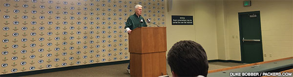 Green Bay Packers GM Ted Thompson