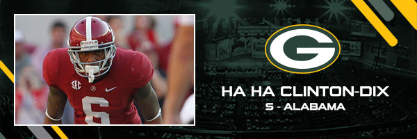 Ha Ha Clinton-Dix, Alabama