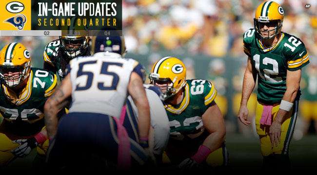 Rams News Now >> Green Bay Packers Official Blog News Now Rams Close On Packers