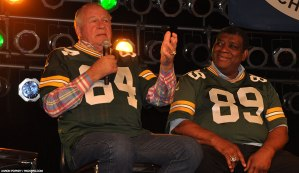 Jerry Kramer and Dave Robinson